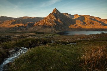 The might Tryfan in all its morning glory!