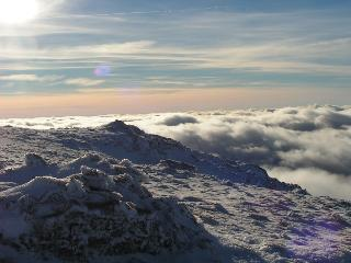 Cloud inversion on Ben Nevis