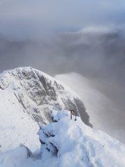 Summitting Ciste Dhubh From my Munro round 23 Dec 2018