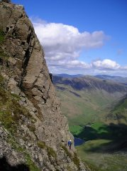 Slab West Climb, Grey Crag