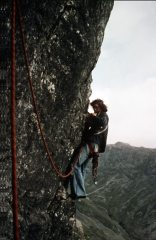 On the first ascent of Central Pillar Direct