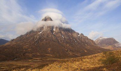 Buachaille Etive Mor from the West Highland Way below Beinn a' Chrulaiste