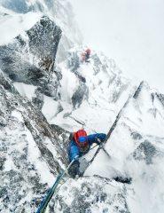 High on the Douglas Boulder after climbing Jackknife, 357 kb