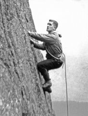 Ernest Weightman unknown climb Dow Crag late 50's/early 60's, 242 kb