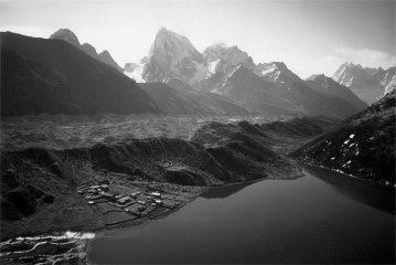 View from summit of Gokyo Ri, Nepal