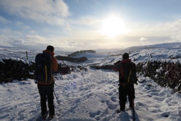 Returning to Horton after the interesting ascent of Penyghent in December, 178 kb