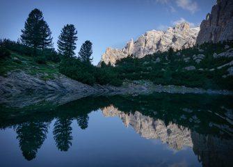 Reflections Lago di Lagazuoi, 481 kb
