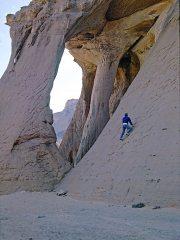 Tony Howard, Libya. Rock wrinkled like elephant hide repulsed us with exfoliating flakes: ashes to ashes, dust to dust, 252 kb