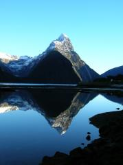 Mitre Peak, Milford Sound, NZ