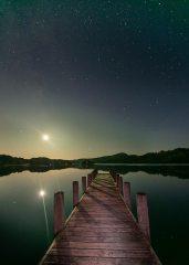 Moonrise Coniston Water, 247 kb