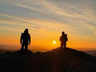 Sunrise in Cheviots , 46 kb