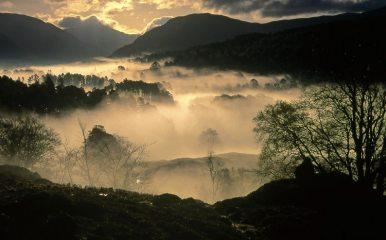 early morning, Glen Lyon
