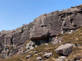 Downwind Danger Crag (Downwind Danger is crack on right)., 274 kb