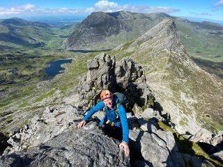 Descending Bristly ridge, 714 kb