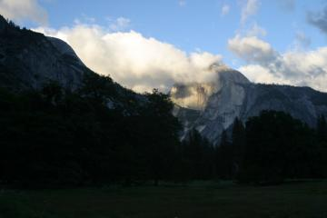 Half Dome after a storm, Yosemite