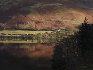 Looking towards Howtown on Ullswater
