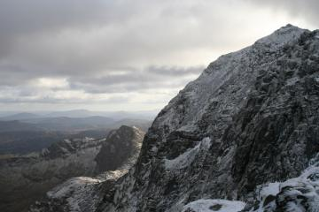 Snowdon Summit from PYG trail