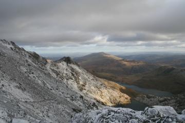 PYG Trail from Snowdon Peak