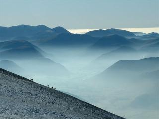 Walkers on Skiddaw