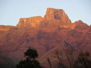 The Sentinel at dawn, Drakensberg, SA
