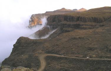 The Edge of the World, or at least, of Lesotho