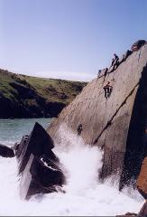 Porth Clais Climbing