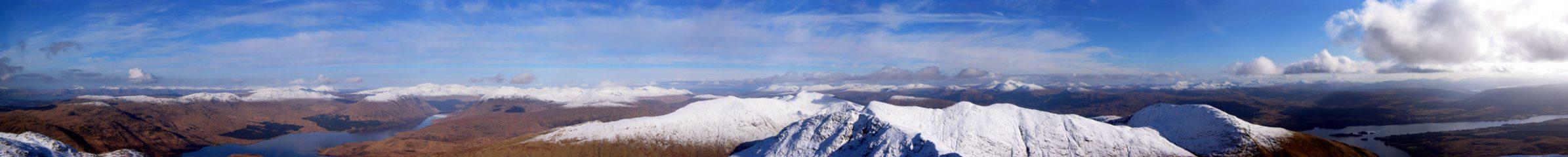 Summit view, Ben Cruachan