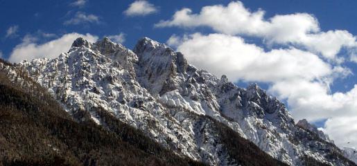 Mountains near Kranjska Gora, Slovenia