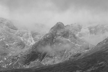 Storms brewing in the Cuillin.