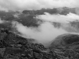 Clearing weather in Langdale