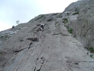 Leading Charity (Idwal Slabs)
