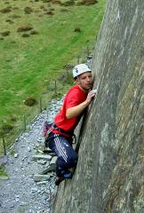 Aly concentrating hard on the bold and fingery Scare City, Bus Stop Quarry, Slate.