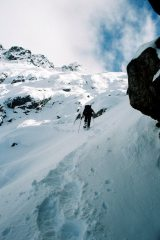 Ascent of Hielo Azul