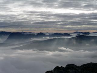 glencoe peaks from na gruagaichean