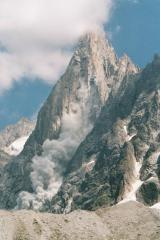 Rockfall on the Dru