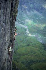 An early ascent of Crocodile, Glen Coe