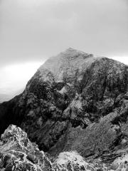 Snowdon - Trinity Face - early in the season