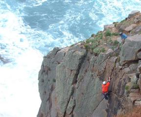 Another fine climb on Lundy