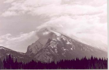 Mount Rundle, Banff National Park, Canada