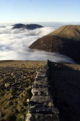 the mourne wall from high on donard