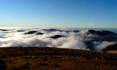 A view over the Mournes from Slieve Donard