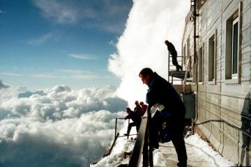 Head in the clouds (Gouter Hut)