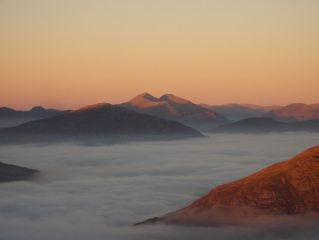 Inversion over Glen Coe