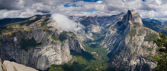 Half Dome & Royal Arches, Yosemite Valley