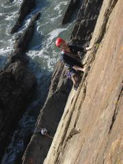 On 'Ben' at Baggy Point