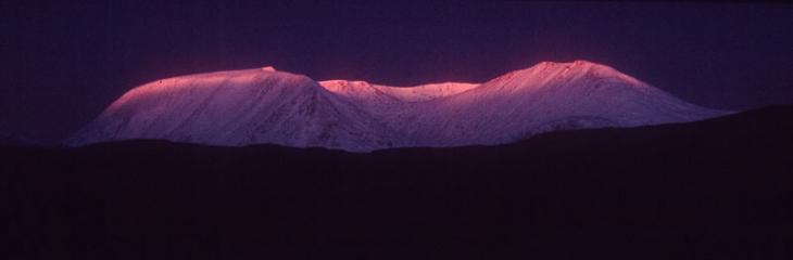 The Blackmount, Glencoe, in December