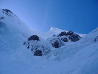 The upper gully of Smith's