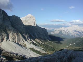 Tofane da Rozes, Dolomites
