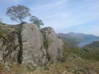 Ardvorlich Sports Crag