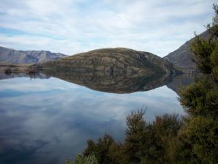 Island in Lake Wanaka